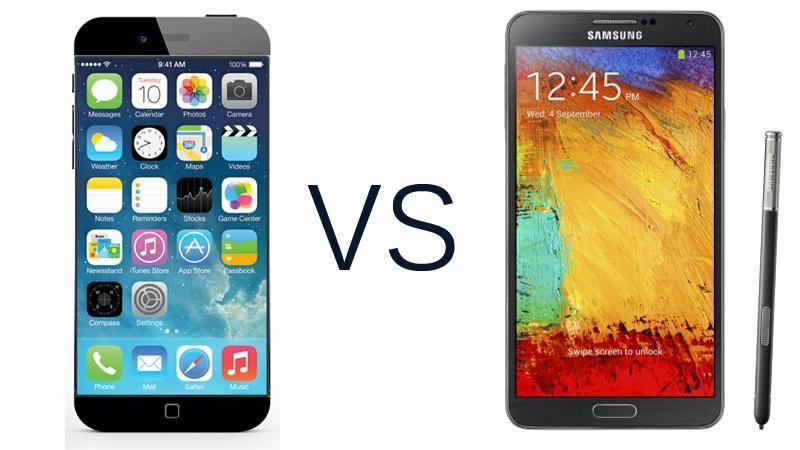 Galaxy Note 4 vs iPhone 6 Plus