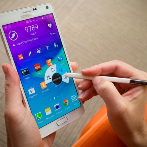 Samsung Galaxy Note 4 Working
