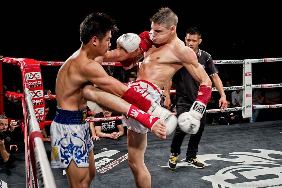 muay-thai-spear