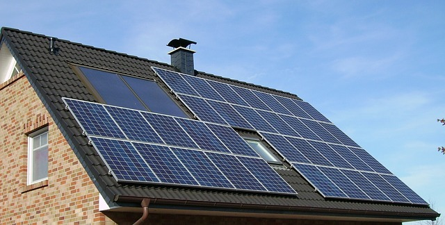 solar panels on hpuse
