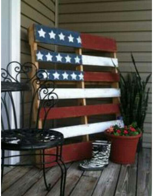 This 4th Of July, Use Decorative Coloured Acrylic For Interiors