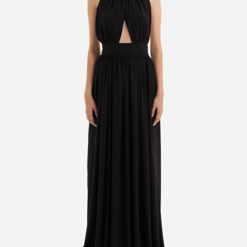 Evening gown for ladies online shown