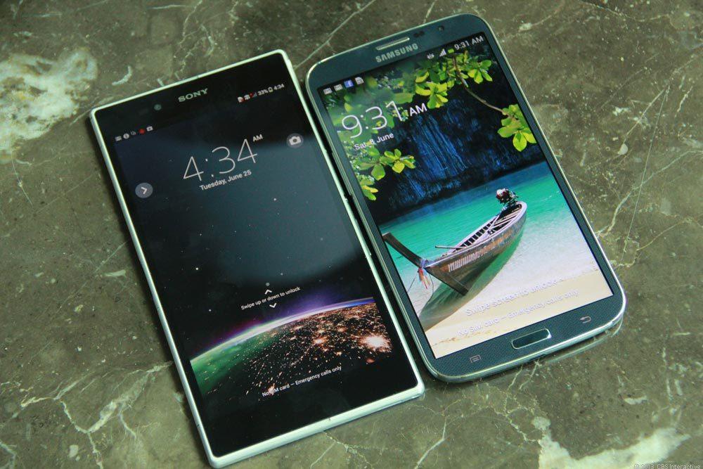 Xperia Z4 vs Galaxy Note 4