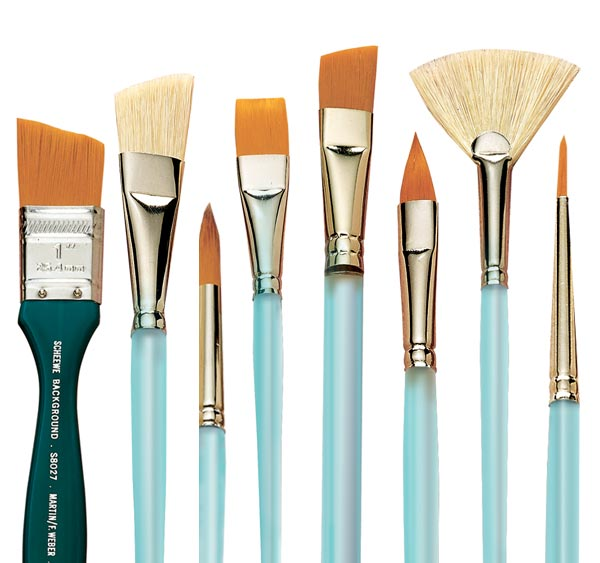 Tips To Choose Right Watercolor Painting Brushes by Bob Ransley