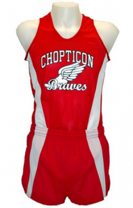 Young Athletes and Track Uniforms