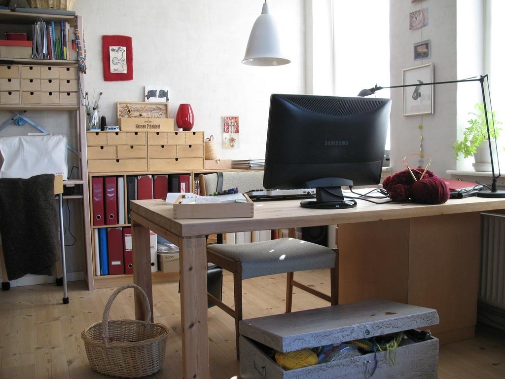 Hints On Ergonomically Optimizing A Home Workstation