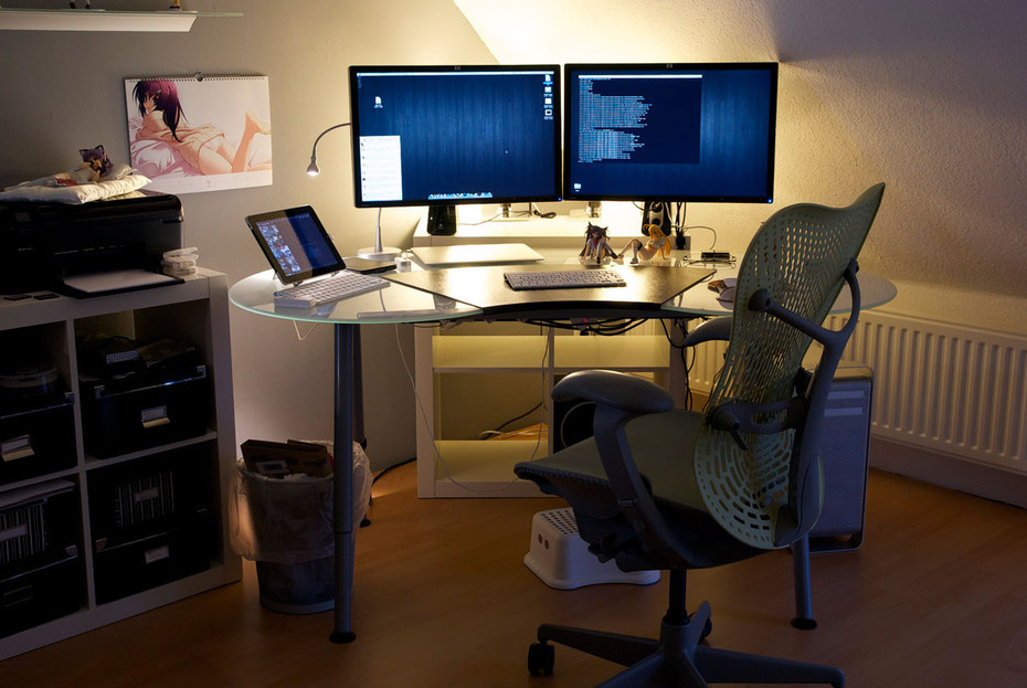 Hints On Ergonomically Optimizing A Home Workstation