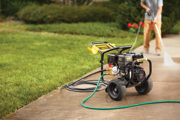 Using Pressure Washers During Spring