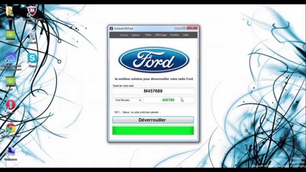 Ford Radio Code Calculator