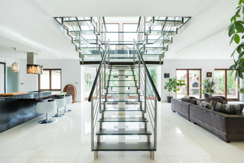 Stainless Steel Handrails—Beauty and Safety Combined
