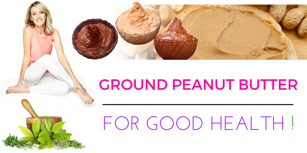 Freshly Ground Peanut Butter For Good Health!