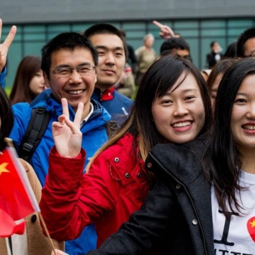 Chinese International Students Are Marketing Champion