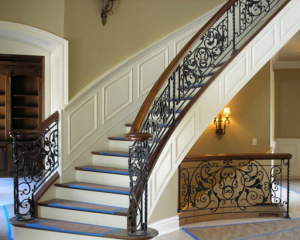 Choose Wrought Iron Stair Railings For Maximum Beauty and Versatility
