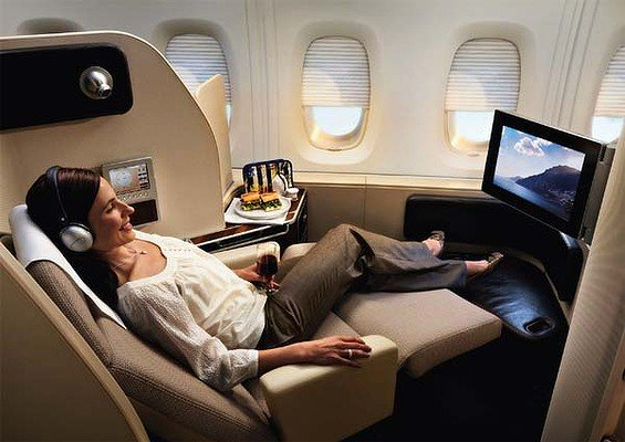 How To Upgrade To First Class Airfare On Business Trips